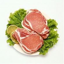 限冷链配送区域特价:丹麦皇冠进口猪大排片500g/袋