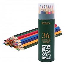 晨光木质彩色铅笔彩铅36色/筒
