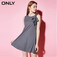 ONLY可拆卸系带宽松基本款连衣裙