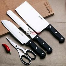 拜格不锈钢厨房刀具套装