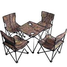 凯速 HG30-1 户外便携桌椅套装 5件套(含一张桌子、4把椅子)