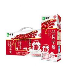 限地区:蒙牛红谷粒早餐牛奶饮品250ml×12盒