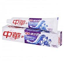 中华优加健齿白深海晶盐牙膏200g