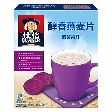 2袋桂格醇香燕麦片紫薯高纤540g