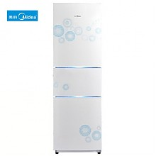 限华东地区!美的 BCD-206TM(E) 206L 三门冰箱  999元包邮