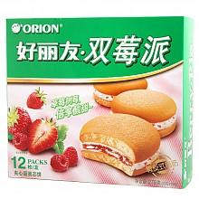 好丽友 双莓派 夹心蛋类芯饼 12枚 276g