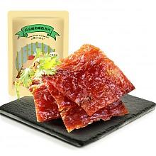 良品铺子风味猪肉脯自然片100g*12件