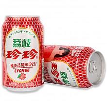 24听*2箱珍珍碳酸饮料荔枝味330ml