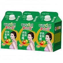 华生堂苹果醋浓缩果汁饮料500ml*3盒组合装