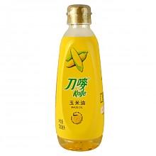 【京东超市】刀唛食用油压榨一级玉米油500ml 香港品质 *2件
