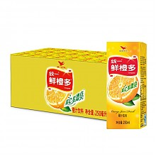 统一 鲜橙多 250ml*24盒/箱 整箱装