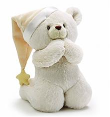Prime会员:祷告泰迪熊婴儿音乐毛绒玩具