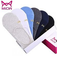 猫人新疆长绒棉船袜6双