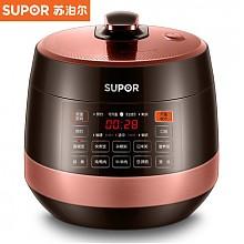 历史低价:苏泊尔触摸屏面板电压力锅5L