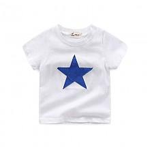 I.K印象童年男童纯棉大星星短袖T恤