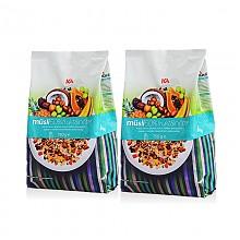 ICA 50%水果坚果果仁燕麦片 750g*2袋