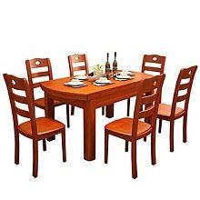 祥融 可伸缩折叠餐桌椅组合