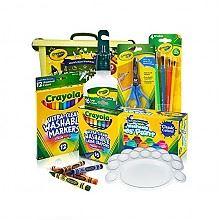 Crayola可水洗儿童绘画手工礼盒7件套