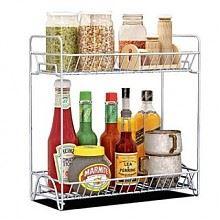 蜗家 厨房置物架2层