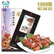 阳澄湖大闸蟹礼券1368型12只(全母蟹)