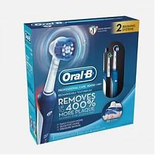 历史新低:欧乐-B Pro 2000 3D智能电动牙刷蓝白色*2只