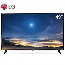 LG 超高清 4K 液晶电视(黑色)