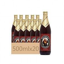 教士 小麦黑啤酒 瓶装 500ml*20瓶