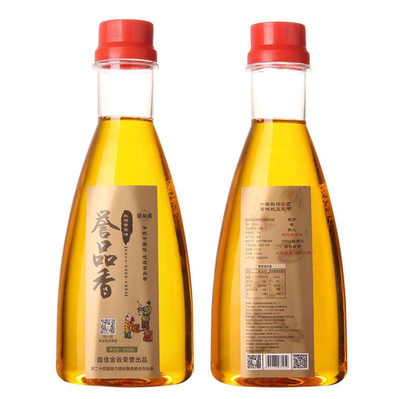 熟榨黄豆油250ml