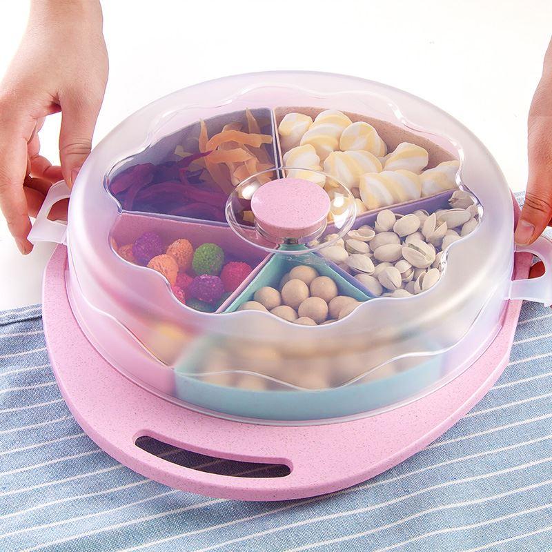 【爱思得】欧式分格家用糖果盒