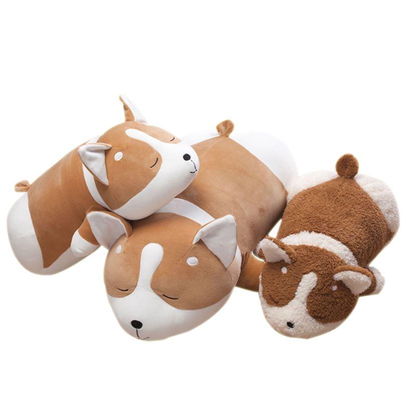 柯基公仔毛绒趴趴狗玩偶