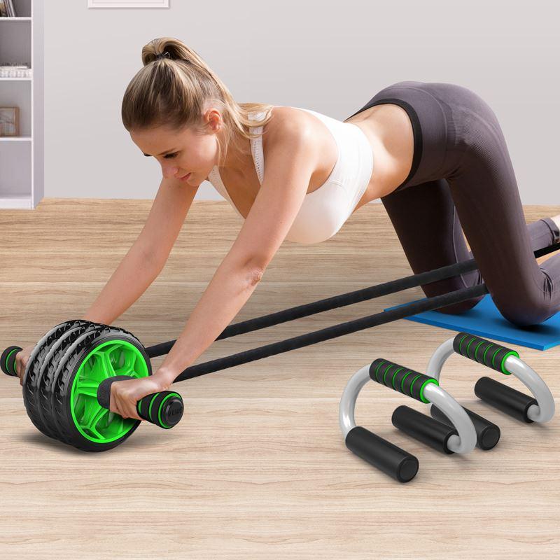 【赫朗】腹肌轮训练器健身器