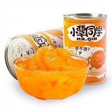 小覃同学新鲜糖水橘子罐头425g*4罐
