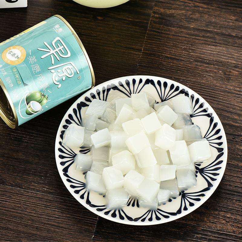 果秀糖水椰果312克*6罐