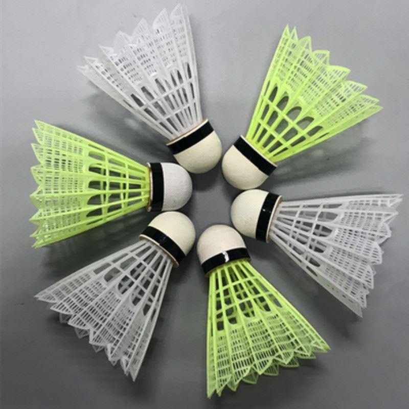 12只装博卡塑料羽毛球